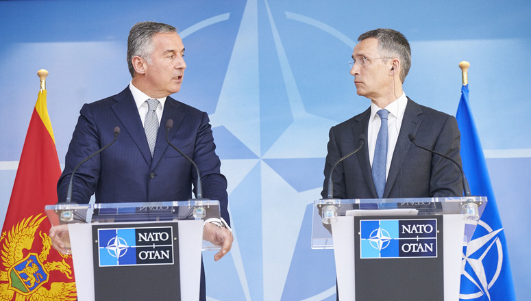 Prime Minister of Montenegro visits NATO